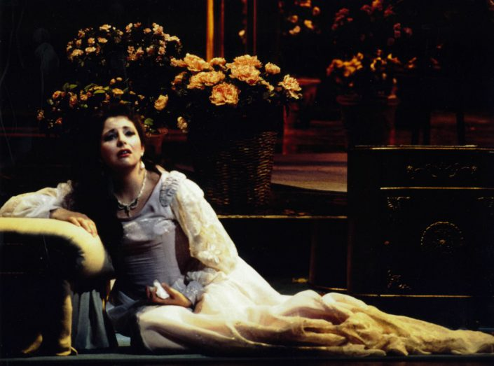 antoniabrown La Traviata, Palm Beach Opera, 1996